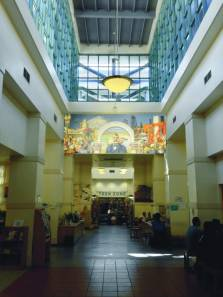 Mural in library