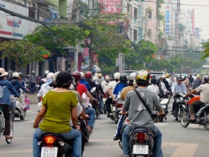 Jim Smith - Viet Nam px3 - typical traffic jam in Ho Chi Minh City